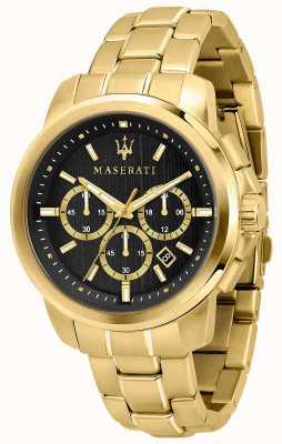 Maserati Relógio banhado a ouro R8873621013