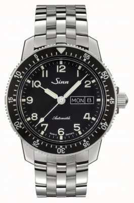 Sinn 104 st sa pulseira de aço inoxidável clássico relógio piloto 104.011 BRACELET