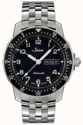Sinn 104 st é um clássico piloto relógio pulseira de aço link fino 104.011 FINE LINK BRACELET