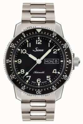 Sinn 104 st sa um piloto clássico assistir pulseira de aço dois link 104.011 TWO LINK BRACELET