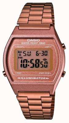 Unissex | Casio | vintage | Rosa ouro B640WC-5AEF