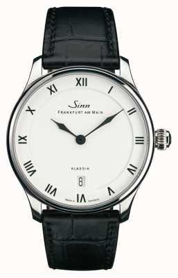 Sinn 1736 classic | pulseira de couro preto | 1736.010
