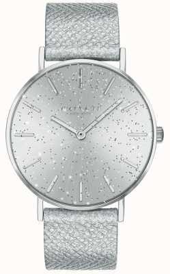 Coach | mulheres | perry | pulseira metálica | discagem glitter prata | 14503323
