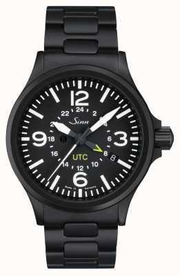 Sinn 856 usa o relógio piloto com proteção de campo magnético e 856.020