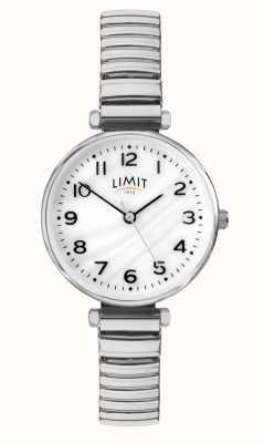Limit | pulseira de aço inoxidável para mulher | mãe de discagem pérola | 60062.01
