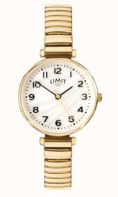Limit | bracelete feminino banhado a ouro | mãe de discagem pérola | 60063.01