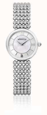 Michel Herbelin | mulheres perle | pulseira de prata | mãe de discagem pérola | 17483/B19