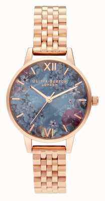 Olivia Burton | mulheres | sob o mar | pulseira de ouro rosa | OB16US25