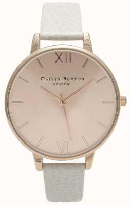 Olivia Burton | mulheres | mostrador solar | pulseira de couro de vison | OB13BD11