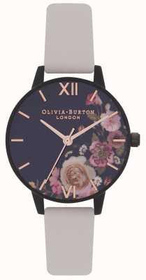 Olivia Burton | mulheres | depois de floral escuro | alça nua vegan | OB16AD30