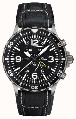 Sinn 757 utc o relógio cronógrafo duo 757.011