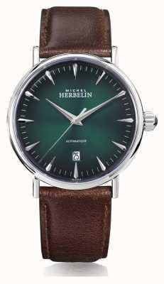 Michel Herbelin | mens | inspiração | automático | mostrador verde | 1647/AP16BR