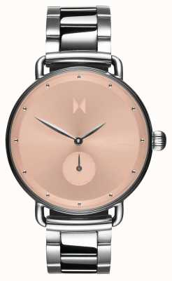 MVMT Dhalia blush flor | aço inoxidável mostrador rosa D-FR01-S