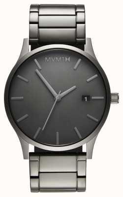 MVMT Link monocromático clássico | pulseira banhada em pvd | mostrador cinza D-MM01-GR