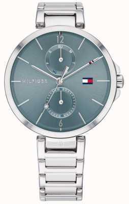 Tommy Hilfiger | pulseira de aço inoxidável para mulher | mostrador azul | 1782126