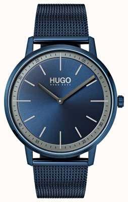 HUGO #exist | malha azul do ip de <br> Não Perca! mostrador azul 1520011