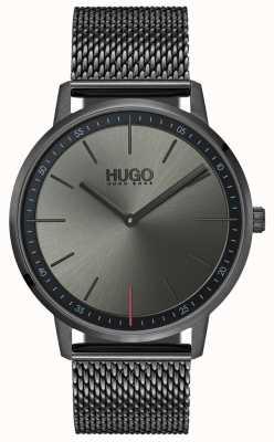 HUGO #exist | malha cinzenta do ip | mostrador cinza 1520012