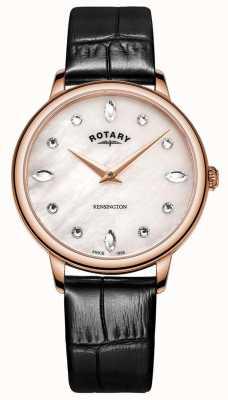 Rotary | kensington das mulheres | mãe de pérola swarovski dial | LS05174/41