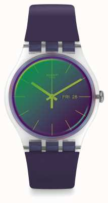 Swatch | novo senhor | relógio polapurple | SUOK712