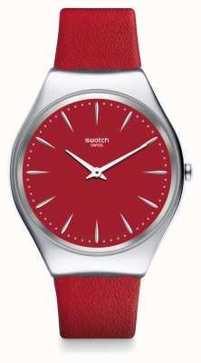 Swatch | pele com coceira | relógio skinrossa | SYXS119