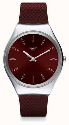 Swatch   ironia na pele   relógio de pele   SYXS120