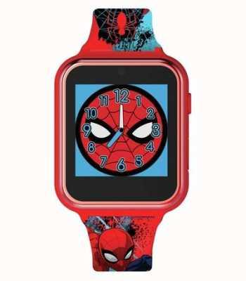 Avengers Relógio inteligente   estojo de plástico vermelho   pulseira de silicone impressa   SPD4588