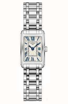 Longines Dolcevita pulseira de prata | rosto branco | L52584716