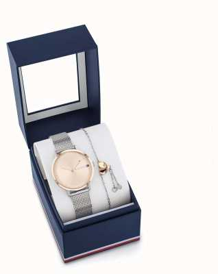Tommy Hilfiger Conjunto de presente para pulseira e relógio pippa feminino 2770053