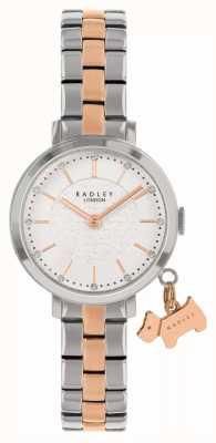 Radley Rua Selby | pulseira de aço bicolor | mostrador branco RY4397
