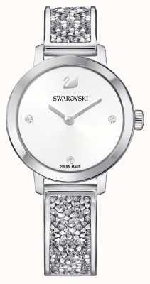 Swarovski | rocha cósmica | pulseira de aço inoxidável | mostrador branco 5376080