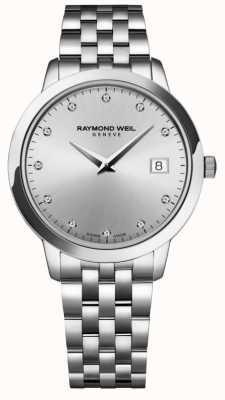 Raymond Weil Mulheres | toccata | diamante mostrador prateado 5388-ST-65081