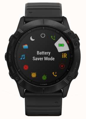 Garmin Fenix 6x pro   silicone preto   smartwatch multiesportivo 010-02157-01