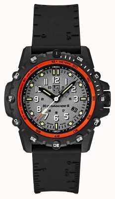 Luminox Comando frogman série 3300 | 46mm | pulseira de borracha preta | XS.3301