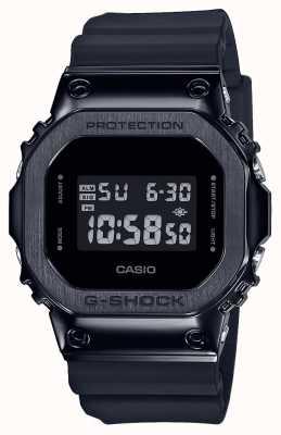 Casio Série G-shock moldura de metal | pulseira de resina preta | digital GM-5600B-1ER
