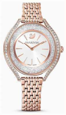 Swarovski | mulheres | aura cristalina | pulseira de ouro rosa | 5519459