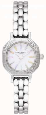 Olivia Burton | pulseira de prata arco-íris | pulseira de aço inoxidável | OB16CC52