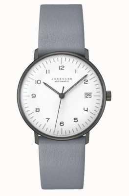 Junghans Conta máxima automática | 38mm preto e branco 027/4007.04