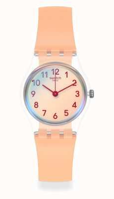 Swatch | senhora original | relógio rosa casual LK395