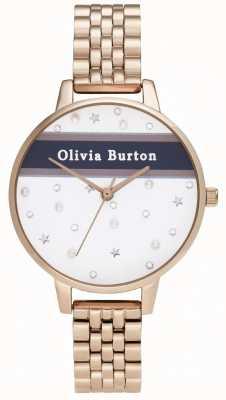 Olivia Burton Mulheres | demi | time do colégio | pvd ouro rosa OB16VS06