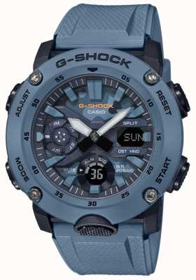 Casio Mens g shock carbon core watch camuflagem GA-2000SU-2AER