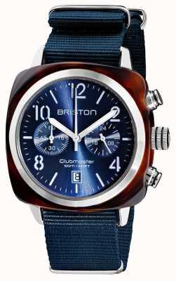 Briston Clubmaster clássico | cronógrafo | 19140.SA.T.33.NMB