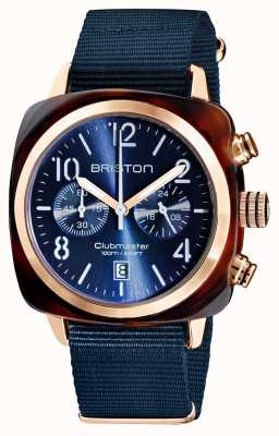 Briston Clubmaster clássico | cronógrafo | 19140.PRA.T.33.NMB