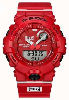 Casio G-shock eterno | bluetooth | vermelho GBA-800EL-4AER