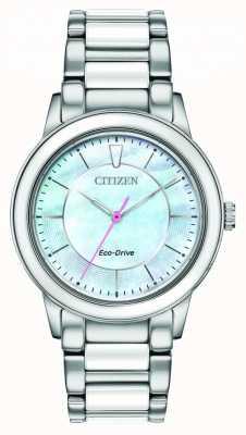 Citizen | mulheres | eco-drive | mostrador azul claro EM0740-53D