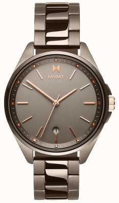 MVMT | coronada feminina | pulseira de íon cinza | mostrador cinza 28000003-D