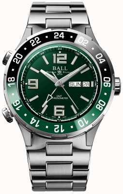 Ball Watch Company Roadmaster marine gmt edição limitada DG3030B-S2C-GR