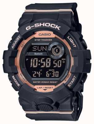 Casio G-shock esquadrão g | pulseira de borracha preta | Bluetooth GMD-B800-1ER