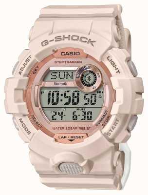 Casio G-shock esquadrão g | pulseira de borracha rosa | Bluetooth GMD-B800-4ER
