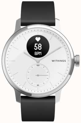 Withings Scanwatch 42 mm - branco HWA09-MODEL 3-ALL-INT
