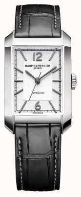 Baume & Mercier Gents hampton | automático | mostrador opalino em prata | M0A10522